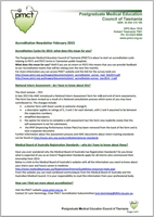 Accreditation Newsletter February 2015